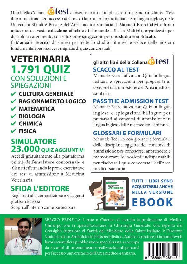 Praparazione ai test ammissione medicina veterinaria